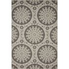 Forbes Gray Outdoor Area Rug Rug Size: Rectangle 6' x 9'