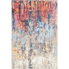 Downtown Chelsea Orange/Blue Area Rug Rug Size: Rectangle 4' x 6'