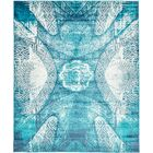 Ford Turquoise Area Rug Rug Size: Rectangle 8' x 10'