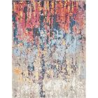 Downtown Chelsea Orange/Blue Area Rug Rug Size: Rectangle 9' x 12'