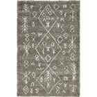 France Machine woven Gray Area Rug Rug Size: Rectangle 5' x 8'