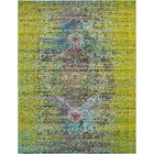 Cassava Machine woven Green Area Rug Rug Size: Rectangle 8' x 10'
