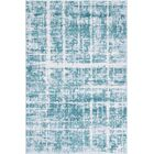 Uptown Lexington Avenue Turquoise Area Rug Rug Size: Rectangle 4' x 6'