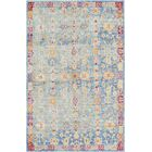 Carrico Oriental Blue Area Rug Rug Size: Rectangle 5' x 8'