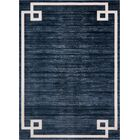 Uptown Hill Navy Blue Area Rug Rug Size: Rectangle 9' x 12'