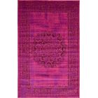 Neuilly Fuchsia/Purple Area Rug Rug Size: Rectangle 5' x 8'