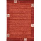 Christi Red Area Rug Rug Size: Rectangle 6' x 9'