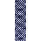 Cynthiana  Navy Blue Area Rug Rug Size: Runner 2'7