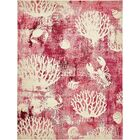 Dickenson Pink Area Rug Rug Size: Rectangle 8' x 10'