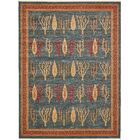 Foret Noire Blue Area Rug Rug Size: Rectangle 10' x 13'