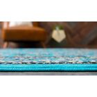 Southern Turquoise Area Rug Rug Size: Rectangle 5' x 8'