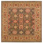 Fonciere Light Brown Area Rug Rug Size: Round 8'