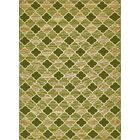 Alice Green Indoor/Outdoor Area Rug Rug Size: Rectangle 8' x 11'