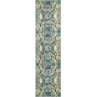 Newton Stain Resistant Blue Area Rug Rug Size: Runner 2'7