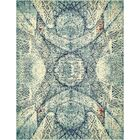Newton Stain Resistant Blue Area Rug Rug Size: Rectangle 8' x 10'