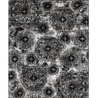 Brandt Black/White Area Rug Rug Size: Rectangle 6' x 9'