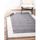 Uptown Yorkville Gray Area Rug Rug Size: Rectangle 4' x 6'