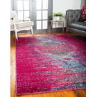 Cassava Machine woven Pink Area Rug Rug Size: Rectangle 5' x 8'