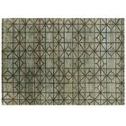Waterkeyn Hand-Knotted Aqua Area Rug Rug Size: Rectangle 5'7