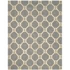 Dresden Hand-Loomed Grey/Gold Area Rug Rug Size: Rectangle 7'3