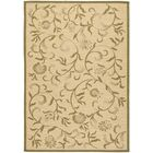 Swirling Garden Cream / Green Area Rug Rug Size: Rectangle 4' x 5'7