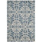 Montelimar  Ivory/Blue Area Rug Rug Size: Rectangle 4' x 6'