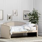 Ronce Daybed Upholstery: Linen Beige
