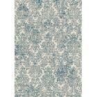 Benoit Ivory/Blue Area Rug Rug Size: 3'3