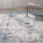 Elson Gray/Gold Area Rug Rug Size: Rectangle 11' x 15'