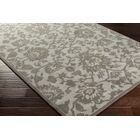 Ivan Hand-Tufted Light Gray Wool Area Rug Rug Size: Rectangle 9' x 13'