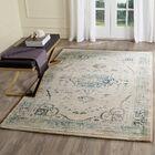 Montelimar Beige/Blue Area Rug Rug Size: Rectangle 8' x 10'