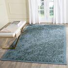 Ellicottville Hand-Tufted Blue Area Rug Rug Size: Rectangle 3' x 5'