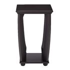 Stephane End Table Color: Brushed Black