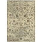 Pheonix Floral Beige/Gray Area Rug Rug Size: Runner 2'3