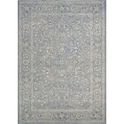 Johnston Floral Yazd Slate Blue Area Rug Rug Size: Runner 2'7