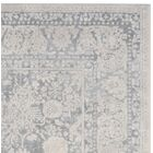 Pellot Light Gray/Cream Area Rug Rug Size: Rectangle 5'1