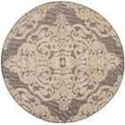 Lievin Taupe Area Rug Rug Size: Round 6'7
