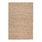 Oyola Hand-Woven Tan Area Rug Rug Size: 9' x 12'