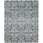 Montelimar  Ivory/Blue Area Rug Rug Size: Rectangle 8' x 10'