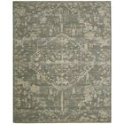 Eidelweiss Blue Medallion Area Rug Rug Size: Rectangle 8'6