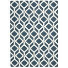 Conforti Cadet Blue Area Rug Rug Size: Rectangle 5' x 7'