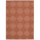 Conforti Paprika Area Rug Rug Size: Rectangle 4' x 6'