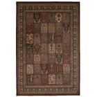 Fernada Burgundy Area Rug Rug Size: Rectangle 3'9