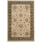 Degory Hand-Knotted Beige Area Rug Rug Size: Rectangle 7'9