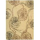 Tarah Floral Ivory Area Rug Rug Size: Rectangle 7'9