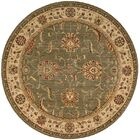 Crownover Green Area Rug Rug Size: Round 7'10