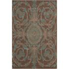 Zaniel Hand-Tufted Mocha Area Rug Rug Size: Rectangle 3'6