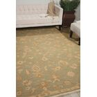 Genoveva Light Green Rug Rug Size: Rectangle 5'6