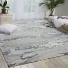 Limerick Modern Hand-knotted Beige Area Rug Rug Size: Rectangle 5'6