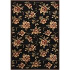 Callisto Black Area Rug Rug Size: Rectangle 7'9